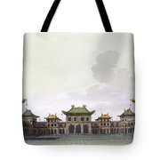 Home Of A Rich Individual In Peking Tote Bag