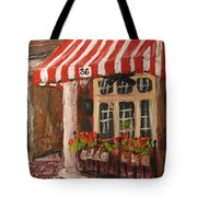 Home Of Annelle's Jack Daniel's Chocolate Pecan Pie Tote Bag