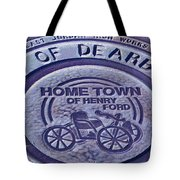 Home Of Henry Ford Tote Bag