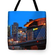 Home Of The Celtics And Bruins Tote Bag