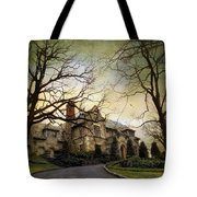 Home On A Hill Tote Bag