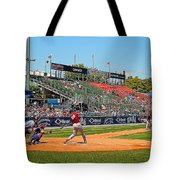 Home Run Or Struck Out Tote Bag