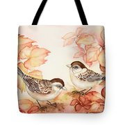 Home Sparrows Tote Bag