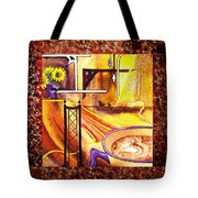 Home Sweet Home Decorative Design Welcoming One Tote Bag