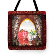 Home Sweet Home Decorative Design Welcoming Two Tote Bag