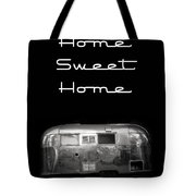 Home Sweet Home Vintage Airstream Tote Bag