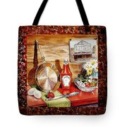 Home Sweet Home Welcoming Five Tote Bag