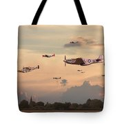 Home To Roost Tote Bag by Pat Speirs