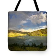 Homeground Rainbow Landscape Tote Bag