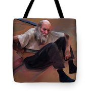 Homeless 3 - A Place To Rest Tote Bag