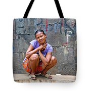 Homeless In Indonesia Tote Bag