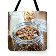 Homemade Toasted Granola Tote Bag