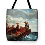 Homer's Breezing Up -- A Fair Wind Tote Bag