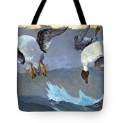 Homer's Right And Left Tote Bag