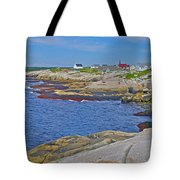 Homes Across Peggy's Cove-ns Tote Bag
