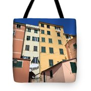 homes in Sori - Italy Tote Bag