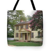 Homestead In Colonial Williamsburg Tote Bag