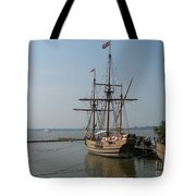 Homesteaders Sailing Ships Tote Bag