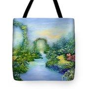 Homeward Journey Tote Bag by Hannibal Mane