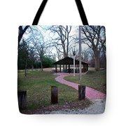 Homewood Izzak Walton Pavilion - Fall Tote Bag