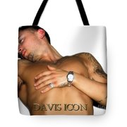 Homme White Tote Bag