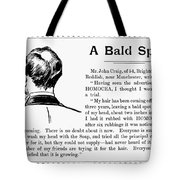 Homocea Hair Restorative Tote Bag