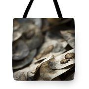 Honesty Seeds Tote Bag by Anne Gilbert