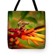 Honey Bee Profile Tote Bag