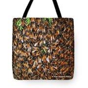 Honey Bee Swarm Tote Bag