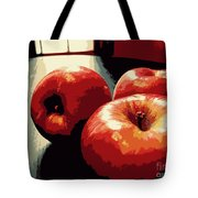 Honey Crisp Apples Tote Bag