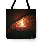 Honey Fire Tote Bag