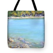 Honey Moon Beach Tote Bag