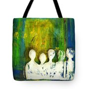 Honey... The Angels Are Here Tote Bag