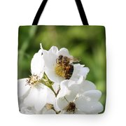 Honeybee Hands Tote Bag