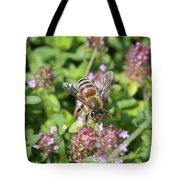 Honeybee On Heal All Tote Bag