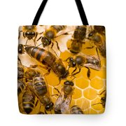 Honeybee Workers And Queen Tote Bag