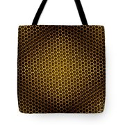 Honeycomb Background Seamless Tote Bag