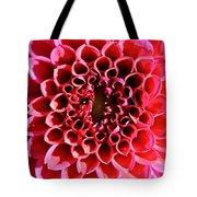 Honeycomb Dahlia Tote Bag