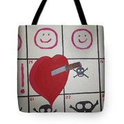 Honeymoons Over Tote Bag