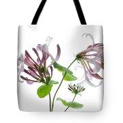 Honeysuckle Blossom Tote Bag