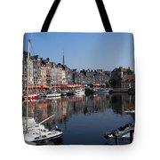 Honfleur By The Seine Tote Bag