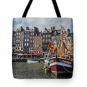 Honfleur Holiday Tote Bag