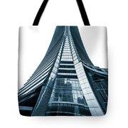 Hong Kong Icc Skyscraper Tote Bag
