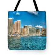 Honolulu Hi 2 Tote Bag