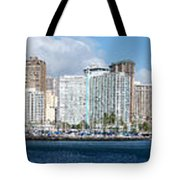 Honolulu Hi 3 Tote Bag