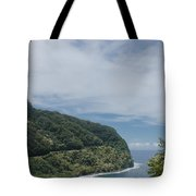 Honomanu Highway To Heaven Road To Hana Maui Hawaii Tote Bag