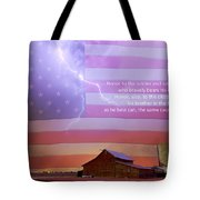 Honor To The Soldier And Sailor Everywhere Tote Bag