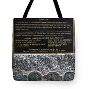 Honored Blacks Tote Bag