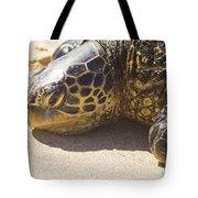 Honu - Hawaiian Sea Turtle Hookipa Beach Maui Hawaii Tote Bag