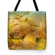 Honu  Sea Turtle Tote Bag